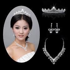 bridal tiaras new arrival bridal tiaras necklace earring silver jewelry