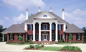 southern plantation house plans plantation southern house plan 65614