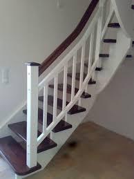 aufgesattelte treppen tischlerei dirxen aus lorup aufgesattelte treppen