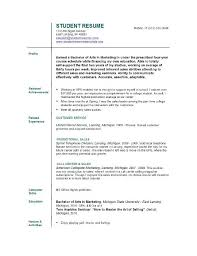 sample resumes for college students how to make resume jobs