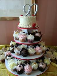 90th Birthday Centerpiece Ideas by Jarets Stuffed Cupcakes For All Special Occasions Birthday