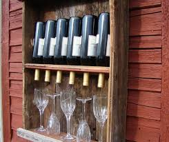 diy rustic wine rack home to home diy home to home diy