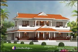 kerala style 2288 sqft villa design traditional double floor