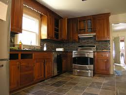 Kitchens With Stone Backsplash Slate Flooring Kitchen Slate Floors Glass Slate Backsplash