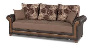Convertible Sofa Bed Decor Brown Convertible Sofa Bed By Casamode