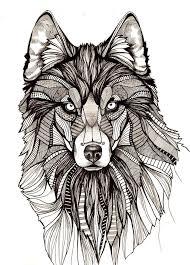 wolf indian tattoos designs 30 mandala wolf tattoos designs collection