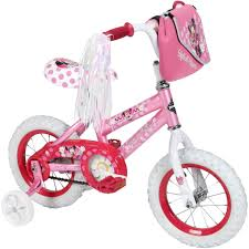 Minnie Mouse Toy Organizer Huffy Disney Minnie Mouse 12 In Bicycle Kids U0027 Bikes Sports