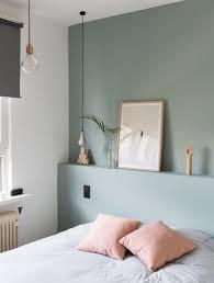 d馗orer les murs de sa chambre déco salon comment décorer sa chambre mur couleur vert gris