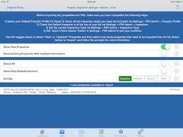 layout inspection report ipad geedee pim property inspections property inspection manager