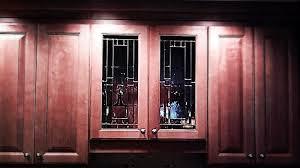 beveled glass kitchen cabinets beveled glass kitchen cabinet panels mclean stained glass