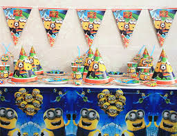 minion baby shower decorations party decoration set picture more detailed picture about new