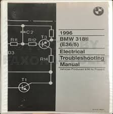 1991 1992 bmw 318is 325i electrical troubleshooting manual