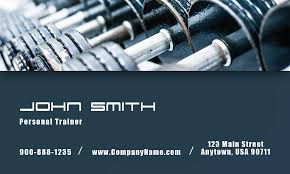 Fitness Business Card Template Fitness And Sport Business Card Design 801101