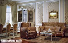 classic livingroom pattern floor classic living room decor fancy