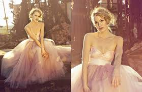 pink wedding dress wedding dress 2012 bridal trends tulle