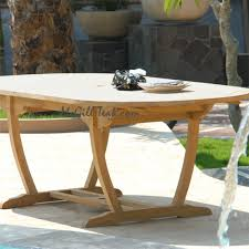 Teak Outdoor Dining Tables Outdoor Oval Table Milano Extension Table