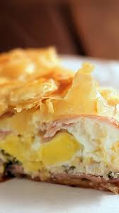 ham and egg pie recipe tastemade