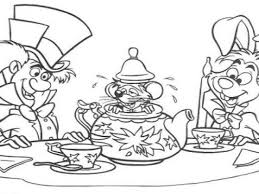 popular alice in wonderland coloring page 94 4827