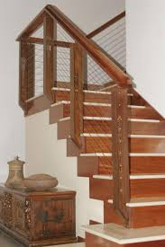 Contemporary Stair Rails And Banisters Rustic Wood Stair Railings Light Oak Wood Staircase Handrail
