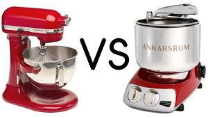 kitchen aid product review comparing ankarsrum vs kitchenaid stand mixers