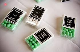 mint to be favors mint candy wedding favors ideas wedding favors ideas for