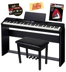 casio privia px 350 digital piano black w cs 67 stand sp 33
