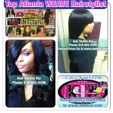 Types Of Sew In Hair Extensions by 4 Top Atlanta Weave Hairstylist Go To Www Atmhair Com U2013 All That