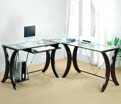 Office Depot Glass Computer Desk Office Table Glass Top Atken Me