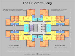 Architectural Design Floor Plans The Cruciform Floor Plan Great Pin For Oahu Architectural