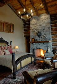interior corner stone fireplace mantels with chic appearance for