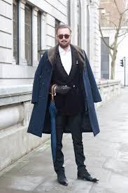 navy fur collar coat men u0027s fashion