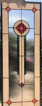 stained glass windows for kitchen cabinets stained glass window cabinet insert panel shelton clear texture glass for kitchen blush glass customizable item 396