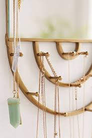 Urban Outfitters Vanity Hanging Rectangle Mirror Jewelry Storage Urban Outfitters