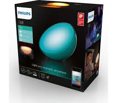 philips 60 sphere lights buy philips hue go portable wireless led smart l free delivery