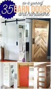 How To Install Barn Door Hardware Diy Barn Door Idea For The Hardware Kitchen Pinterest Diy