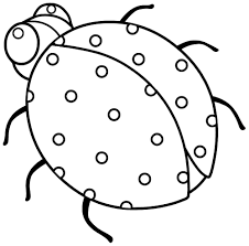 ladybugs coloring pages simple noir cat and ladybug coloring