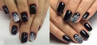 Nail Art Design Black 18 Awesome Winter Black Nails Art Designs U0026 Ideas 2016 2017
