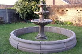 water fountains circular pool surrounds geoffs garden ornaments