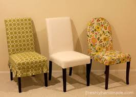 slipcovers for parson chairs freshly handmade parsons chair slipcover