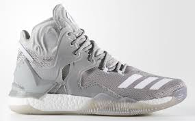 d roses adidas d 7 grey white adidas basketball