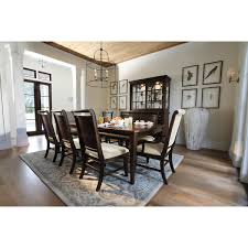 Dark Dining Room Table City Furniture Canyon Mid Tone Rectangular Dining Room