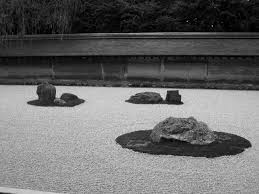 getting zen at the rock garden of ryoanji temple in kyoto japan