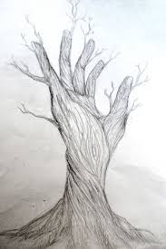 anime tree sketch how to sketch trees stepstep landscapes