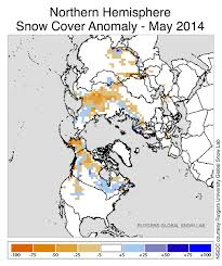 United States Snow Cover Map by June 2014 Arctic Sea Ice News And Analysis