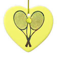 shaped tennis ceramic decorations shaped tennis tree