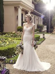 Country Chic Wedding Spaghetti Straps Ivory Country Chic Wedding Dress