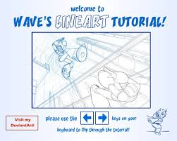 lineart and sai tutorial by suzuran on deviantart