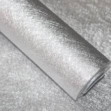silver metallic peel stick wallpaper glitter shinny self adhesive