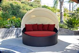 Rolston Wicker Patio Furniture - rolston wicker patio daybed home and garden decor patio daybed