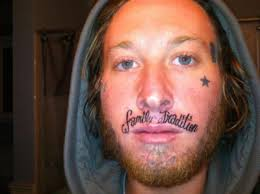 Stupid Face Meme - 25 of the worst face tattoos ever weknowmemes